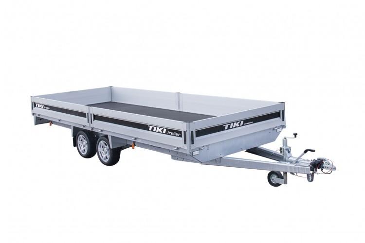 CP600-DRBW/DROP/3500kg [Attēli ir informatīvi un piekabes komplektācijā var būt iekļauts papildu aprīkojums]