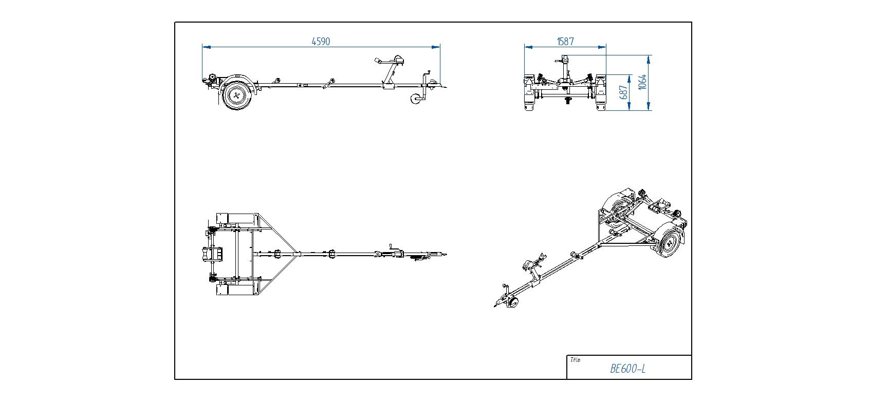 BE600-L  [Attēli ir informatīvi un piekabes komplektācijā var būt iekļauts papildu aprīkojums]
