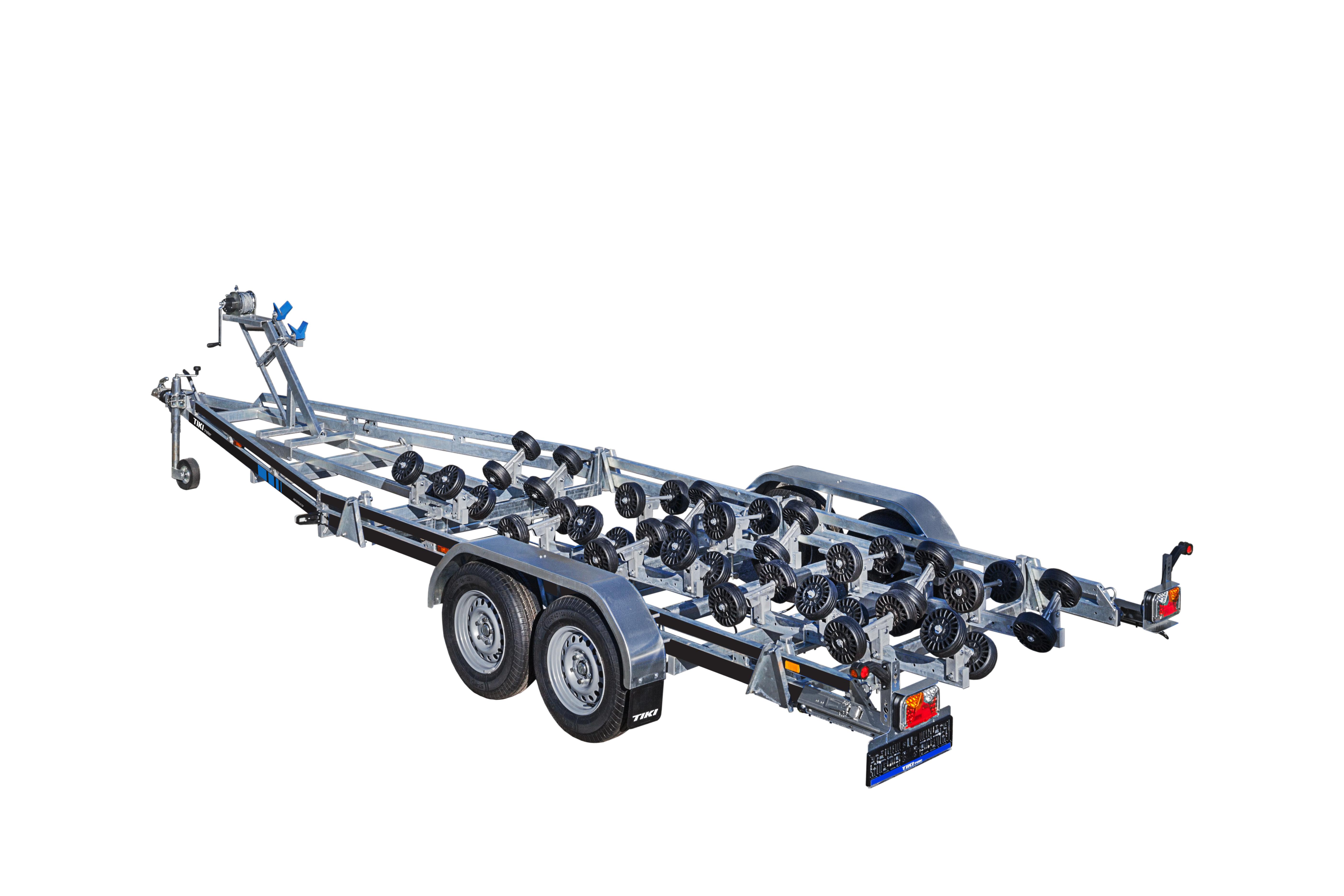 BP3500-DRB Multiroller [Attēli ir informatīvi un piekabes komplektācijā var būt iekļauts papildu aprīkojums]
